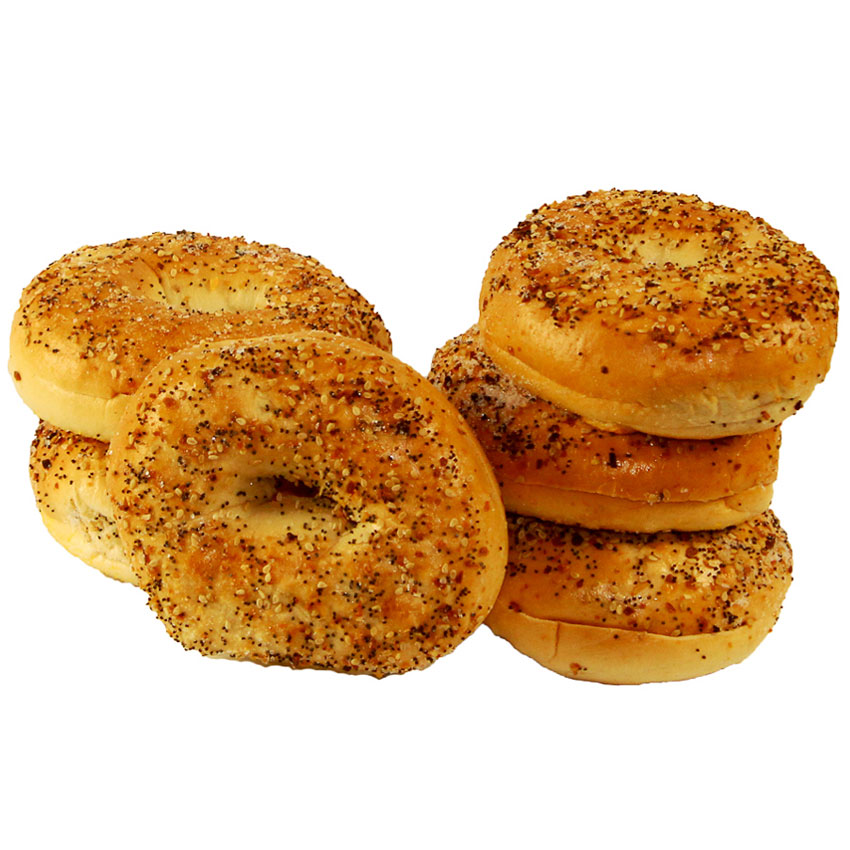 Soup Kitchen Knoxville: Bagel Everything Sliced